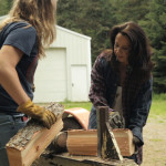 Idaho-Maria and Kelly Splitting Wood-Screenshot